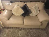 2 seater Arthur Llewelyn Jenkins leather settee