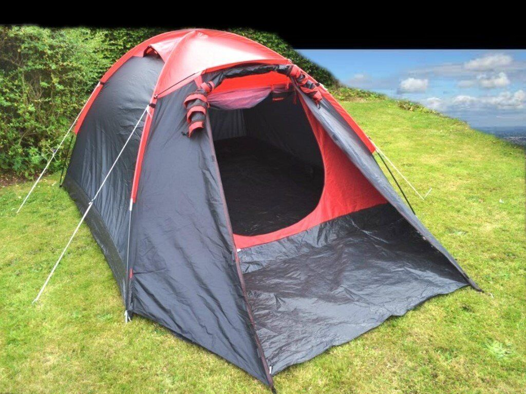 proaction 4 man 1 room dome tent in plymouth devon gumtree