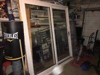 Sliding patio doors good condition