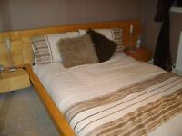 King Size Duvet Set & Cushions
