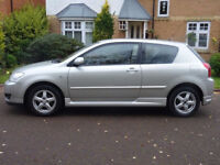 TOYOTA COROLLA 1.4 COLOUR COLLECTION VVT-I 3d 92 BHP SERVICE RECORD ( 7 STAMPS)++