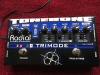 Radial Trimode Tonebone valve double overdrive pedal