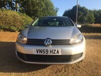 VW GOLF 2.0 TDI (140ps) SE..59 PLATE.11 MONTHS MOT..FULL SERVICE HISTORY..ONE OWNER..T/BELT REPLACED