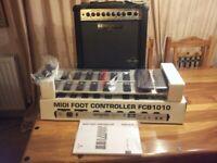 Behringer GX110 Ultraroc Guitar Combo with 'Virtube' Technology (+ Controller )