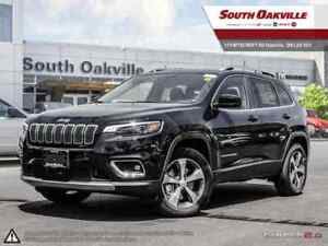 2019 Jeep New Cherokee Limited | 0% UP TO 72 MONTHS OAC