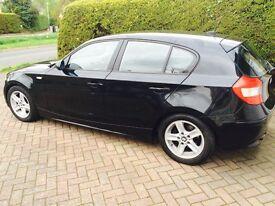 BMW 1 series 118d Sport Black, **£2,000**