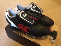 Rugby Boots - Canterbury Phoenix 8 stud (Adult size 9)