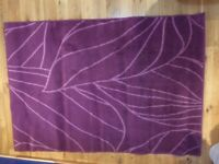 IKEA low pile RUG - LILAC / PURPLE