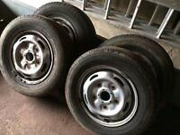 Ford transit wheels x4 .. bargain £30