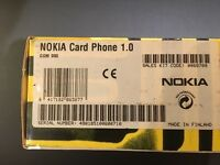 Nokia card phone version 1.0
