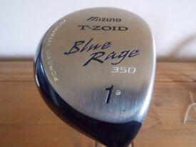 Mizuno T-Zoid Blue Rage Driver