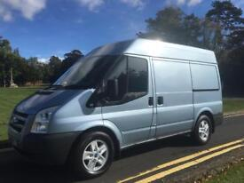FORD TRANSIT GLX 2.2 TDCI 56 REG LOW MILEAGE SWB / MED ROOF DRIVES PERFECT