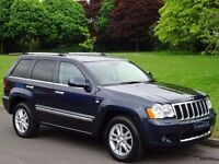Jeep Grand Cherokee 3.0 CRD V6 Overland Tech Station Wagon 4x4 5dr NAVIGATION - BLUETOOTH - SUNROOF