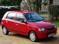 Suzuki Alto 1.1 GL 5dr LOW MILEAGE + NEW MOT + ONLY 40,000 MILES