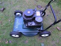 Hayterette 5hp Professional grass cutter / rotary mower.