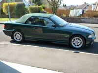 Much-loved BMW E36 convertible in mint condition