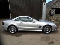 Mercedes SL55 AGM Compressor A. just under 25000 mls. first reg 08/04/2004
