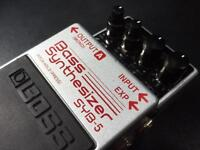 BOSS SYB-5 Bass Synthesiser guitar pedal