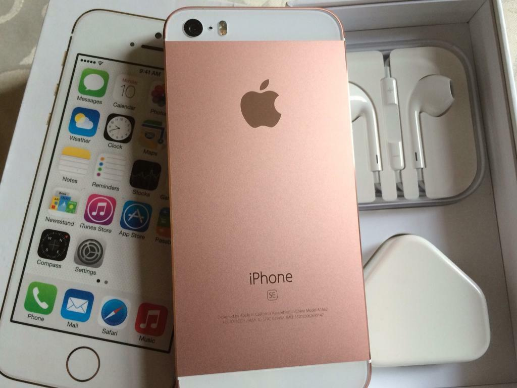 Iphone 5s 16gb metallic rose gold and white (unlocked) any networkin Crewe Toll, EdinburghGumtree - Iphone 5s 16gb metallic rose gold and white (unlocked) any networkThe phone is 100% fully working and in immaculate condition due to a completely new housing metal rose. Just to be clear, this is not the iPhone SE. This is the iPhone 5s, which has a...