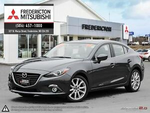 2014 Mazda MAZDA3 GT! REDUCED! SUNROOF! NAV! WARRANTY TO 160K!