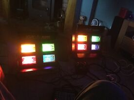 Stairville Stage lights