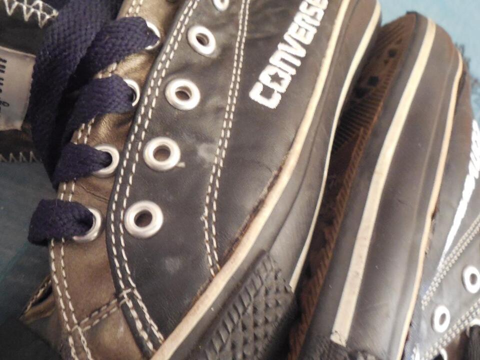 Converse Chucks größe 39 low Schwarz double upper