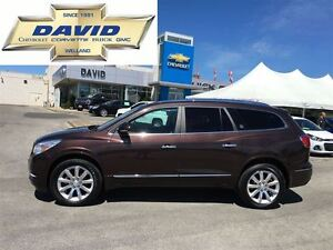 2015 Buick Enclave Premium AWD, DVD, QUADS, 20 CHROME WHEELS!!