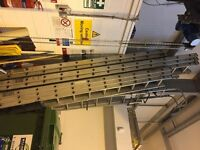 4 X TRADE ALUMINIUM TRIPLE EXTENSION LADDERS FOR SALE