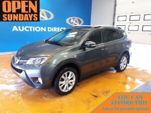 2013 Toyota RAV4 LTD! LEATHER! SUNROOF! AWD!