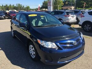 2013 Toyota Corolla CE 5 speed  ONLY $88 BIWEEKLY 0 DOWN!