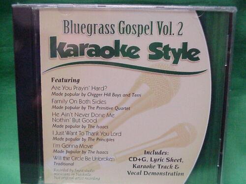 Bluegrass Gospel  Vol. #2  Christian  Daywind  Karaoke Style  CD+G  NEW  Karaoke