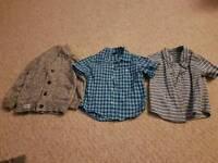 2 shirt and cardigan