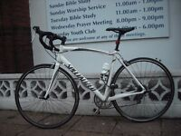Specialized Allez 18speed Road Bike Large56cm Liteweight Alloy Frame/Carbon Forks Shimano Sora Gears