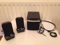PC world essentials 2.1 Speakers