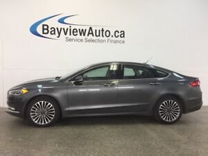2017 Ford FUSION SE- AWD! ROOF! ECOBOOST! HTD LTHR! NAV! SYNC!
