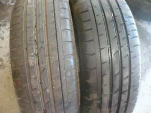Two matching 205-55-17 tires   $90.00