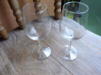 2 Wine Glasses----Perfect!