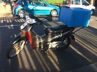 honda anf 125cc samiautomatic 2009 scooter