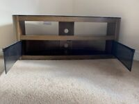 John Lewis Affinity Premium Burghley 1250 Tv Stand In Walnut