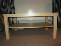 Ikea coffee table/TV stand for sale