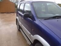 Daihatsu Terios | 80K | 4 NEW TYRES | FULL YEARS MOT