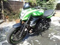 KAWASAKI er6n, 2010, VERY LOW MILES, MINT CONDITION