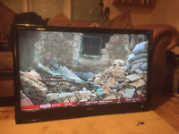 "42"" 1080p HD Toshiba REGZA TV with wall mounted bracket"