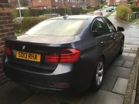 2013 BMW 3 Series 320D Efficiency Dynamic, 4 door, Grey, well maintained, must see!