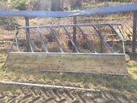 10ft Cattle Diagonal Feed Barrier
