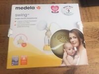 Medela Swing Breast Pump with Calma - used literally 1-2