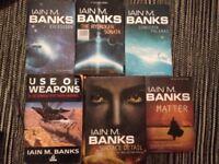 6 Iain M. Banks Novels