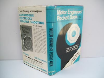 Book,  Motor Engineers' Pocket Book, 1967, HBDJ (Engineers Pocket Book)