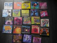 Over 23 CDS for sale, majority 90's rave dance