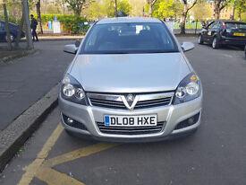 2008 Vauxhall Astra 1.6 Silver 5dr Hatchback Manual Petrol MOT Aug2017 Full service history 2keys